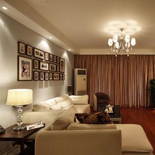 现代简约风格三居室装修实景图