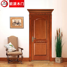 欧派房门荣耀系列OPS-509实木复合烤漆门 室内套装门