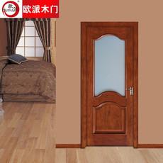 欧派房门荣耀系列OPS-507实木复合烤漆门 室内套装门
