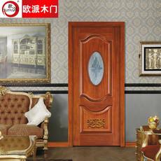 欧派房门荣耀系列OPS-505实木复合烤漆门 室内套装门