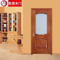 欧派房门荣耀系列OPS-515实木复合烤漆门 室内套装门