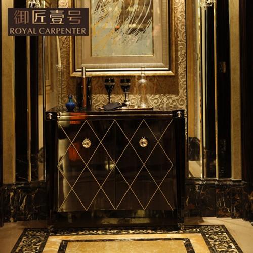 御匠壹号 黑檀钢琴漆玄关柜实木皮饰面框架结构橡木移动新古典 DJ 1933壁炉价格,图片,品牌信息 齐家网产品库