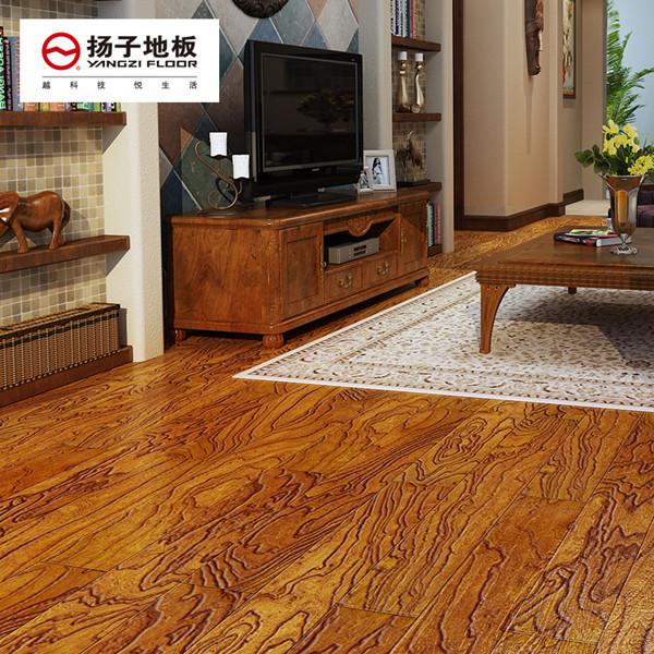 扬子地板实木复合地板 仿古 实木复合地板yfa526
