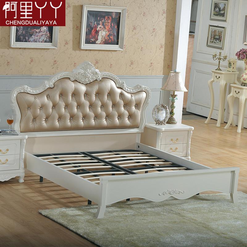 阿里丫丫 松木支架结构欧式雕刻 床价格,图片,品牌_网