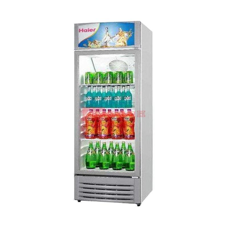海尔 白色冷藏ST单门R600a直冷左开式无立式展示柜机械控温 酒柜