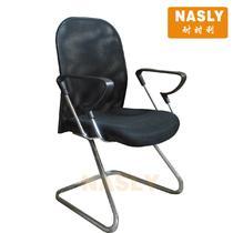 金属固定扶手无扶手钢制脚网布 扶手椅