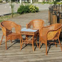 塑料编织/缠绕/捆扎结构多功能田园 咖啡桌