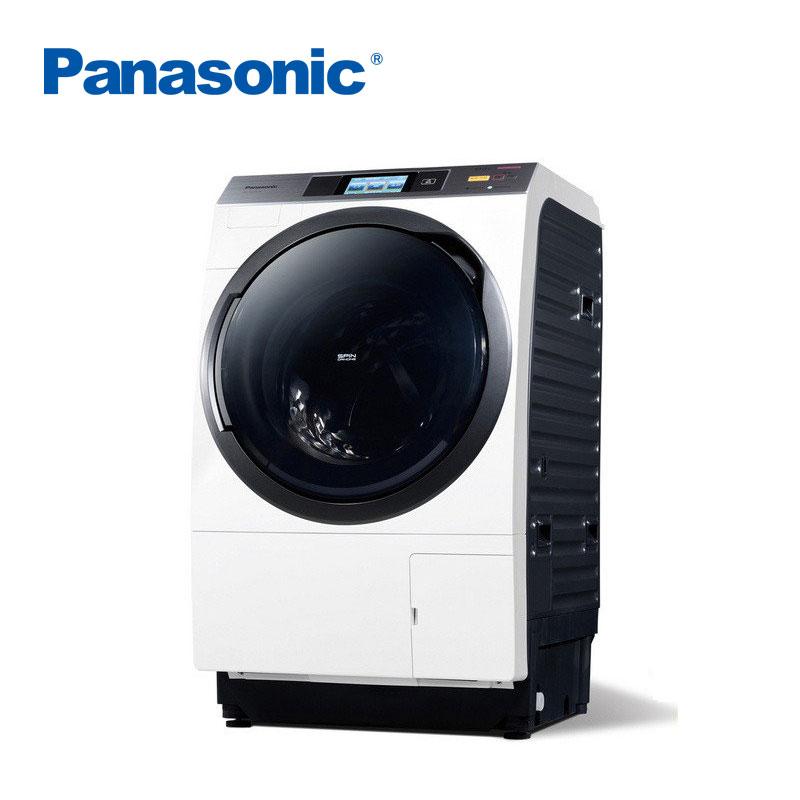 panasonic/松下 xqg100-vr108 10kg智能变频烘干滚筒洗衣机(白)日本全