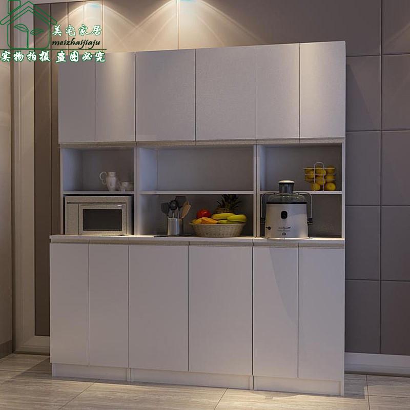 美宅 刨花板/三聚氰胺板框架结构储藏艺术简约现代 餐边柜-12餐边柜