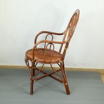 植物藤支架结构成人田园 靠背椅