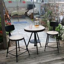 实木支架结构升降艺术美式乡村 咖啡桌