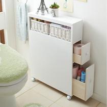 白色人造板密度板/纤维板箱框结构移动艺术简约现代 地柜