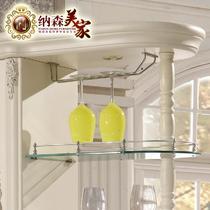 象牙白框架结构橡木拆装艺术欧式 装饰柜