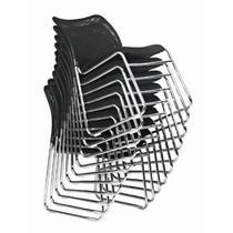 黑色金属无扶手不锈钢铝合金脚网布 扶手椅