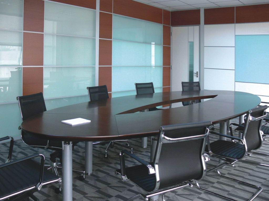 康运 钢木椭圆形 k-5063会议桌