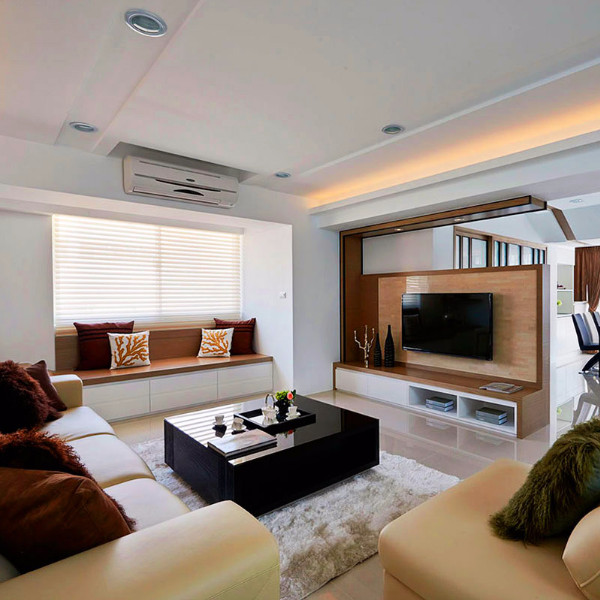 金地·鉑悅三居室125平米b戶型裝修圖片
