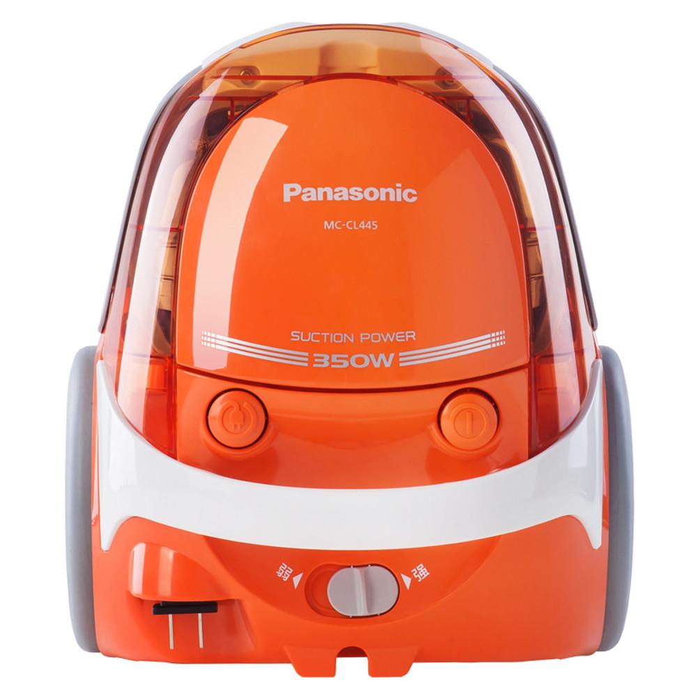 松下 橙色手持式尘盒干式 吸尘器