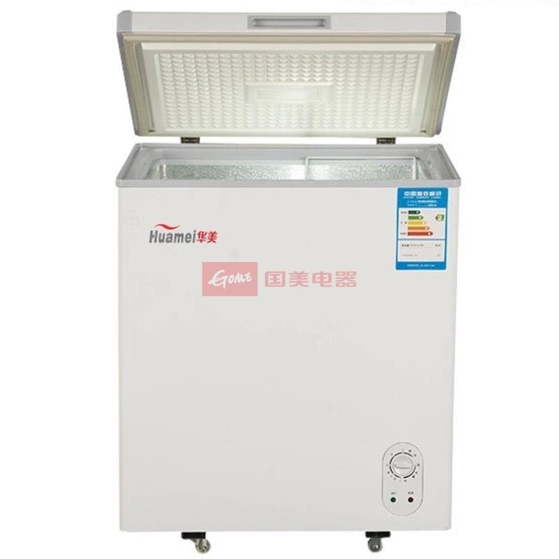 华美 白色机械式定频台 冷柜