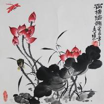 有框独立植物花卉 GHHH20130402-049国画