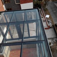 【万增品牌门窗】宝山区阳光房订制 铝合金中空玻璃 隔音保温