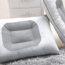 决明子斜纹布一等品棉布花草长方形 枕芯