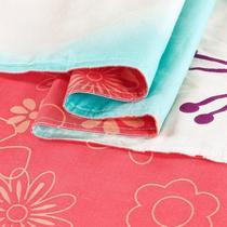 棉布斜纹布一等品植物花卉 被套