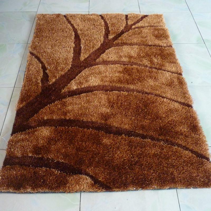 溢美 高档南韩丝地毯田园风景长方形中国风机器织造 地毯
