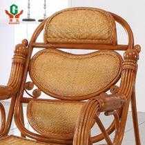 买就送按摩器植物藤框架结构拆装艺术成人简约现代 藤椅