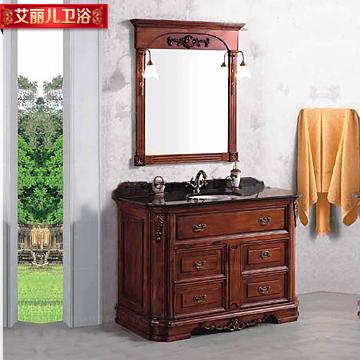 大理石台面欧式浴室柜