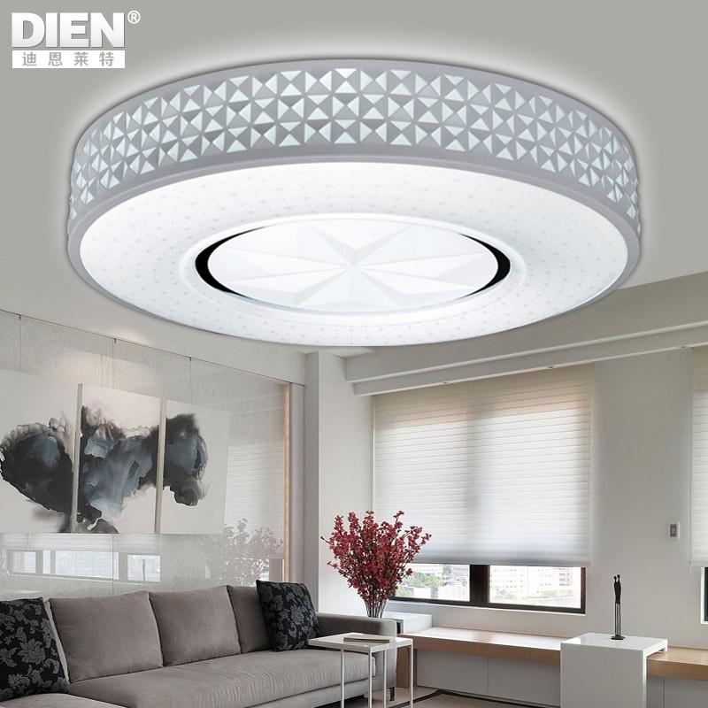 迪恩莱特 有机玻璃铁简约现代镂空雕花圆形led dex517