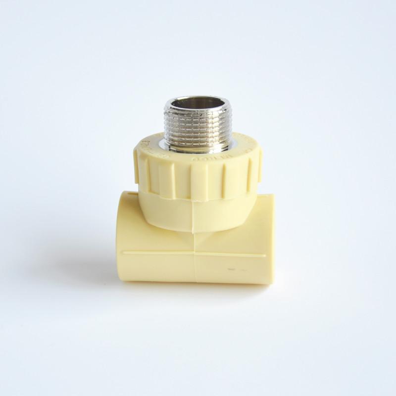 美尔固 DN25(6分管 ) 阻光管件外螺纹三通管材