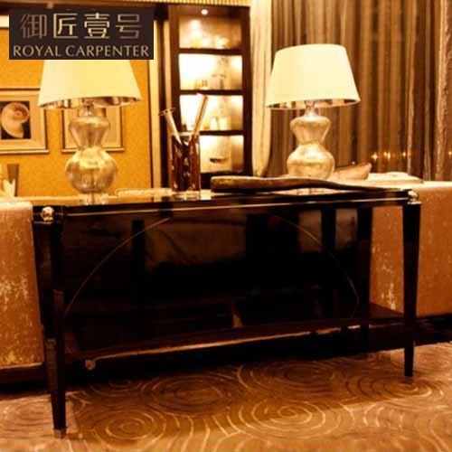 御匠壹号 黑檀钢琴漆实木皮饰面框架结构移动新古典 玄关价格,图片,品牌信息 齐家网产品库