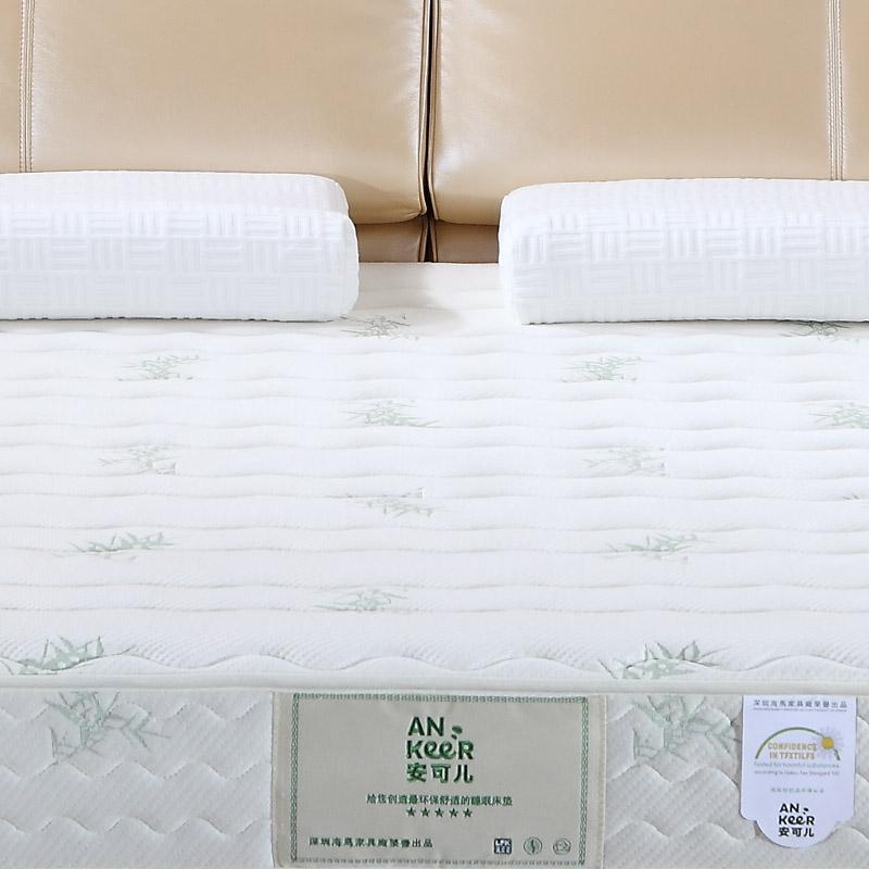 安可儿 白色海绵成人 床垫