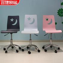 家具配套色金属不锈钢支架结构移动简约现代 儿童椅