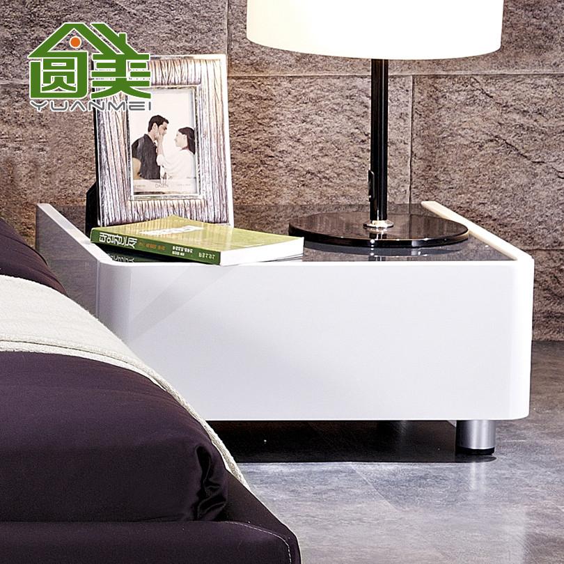 圆美 人造板密度板/纤维板成人简约现代 C57床头柜