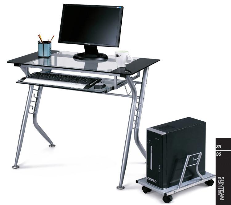 金属铁合金台式电脑桌艺术欧式