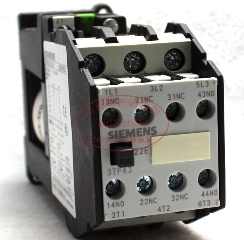 西门子 二开二闭 3TF4322-1XB4继电器