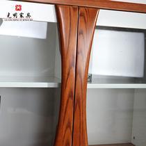 木组装水曲柳简约现代 地柜