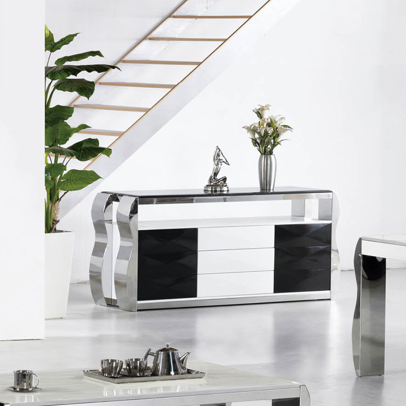 博莱克 金属不锈钢箱框结构简约现代 2033#餐边柜