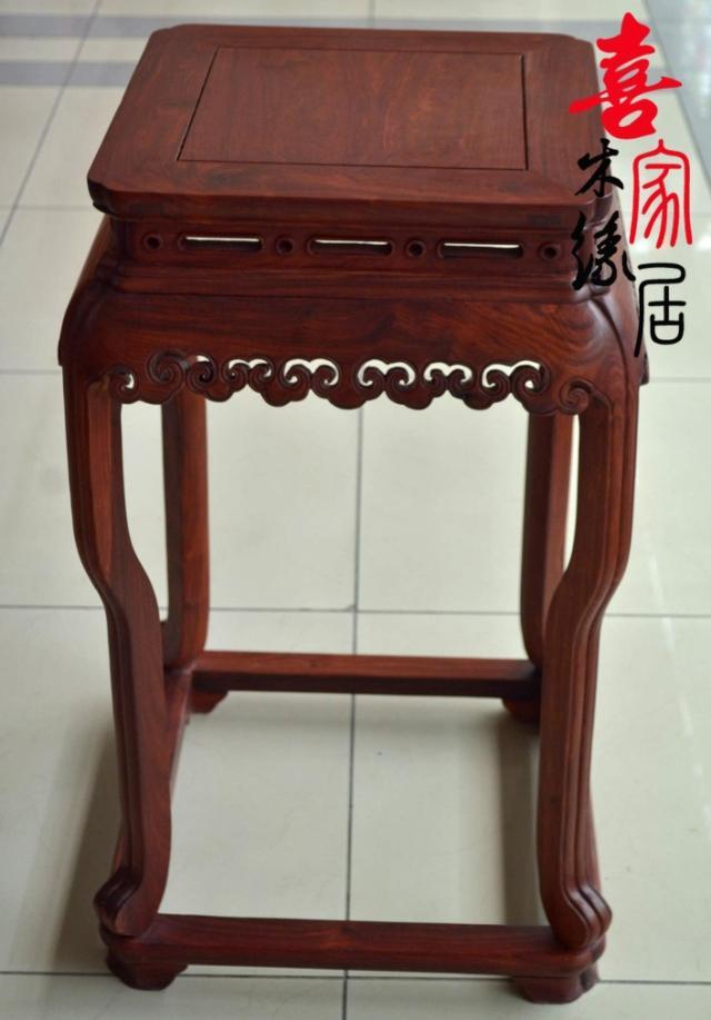 三上 木质工艺榫卯结构多功能明清古典 花架