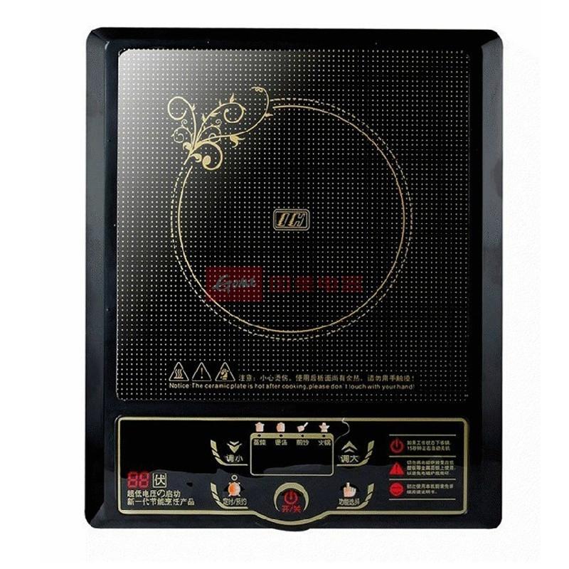 红三角 黑色陶瓷面板按键式三级 电磁炉
