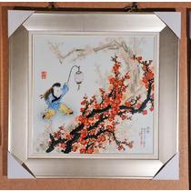 陶瓷简约现代 早春-刘凯瓷板画