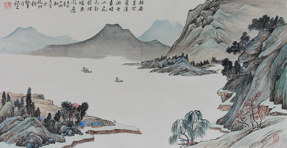 锦翰堂 有框独立风景 ghss20130718-386国画