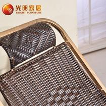 纸藤框架结构多功能抽象图案成人田园 藤椅