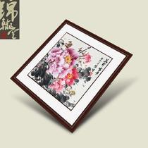 有框牡丹 GHMD20130402-401国画