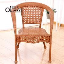 塑料编织/缠绕/捆扎结构移动抽象图案田园 公园椅