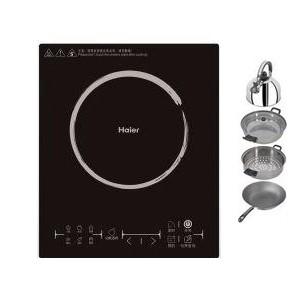 海尔 黑色微晶面板8档触摸式三级 C21-H2101电磁炉