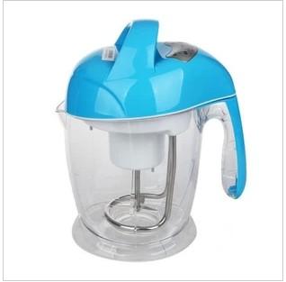 海尔 蓝色不锈钢1L 豆浆机