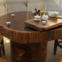 油漆工艺喷漆 功夫茶桌