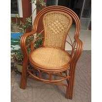 五件套单个椅子植物藤框架结构艺术成人田园 藤椅